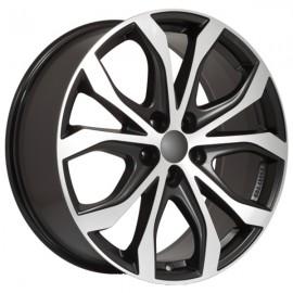 5112+5266200090 Disks Alutec W10 Black Polished